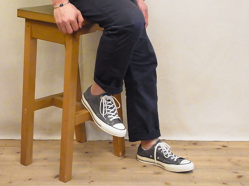 CONVERSE Chuck Taylor 70s CT70/Charcoal Suede OX
