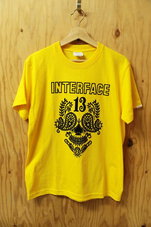 """INTERFACE(インターフェイス)"""" MUERTO """"   TEE  SHIRTS"""