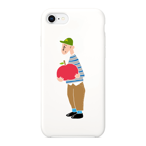 【teenage apple boy】 phone case (iPhone / android)