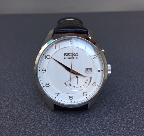 "海外モデル    ""SEIKO KINETIC"" DRESS WATCH"
