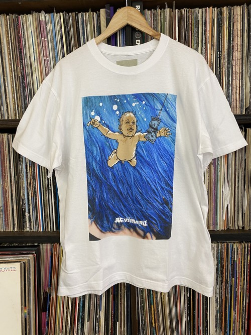 D.H.NEVERMIND T-shirt / White...