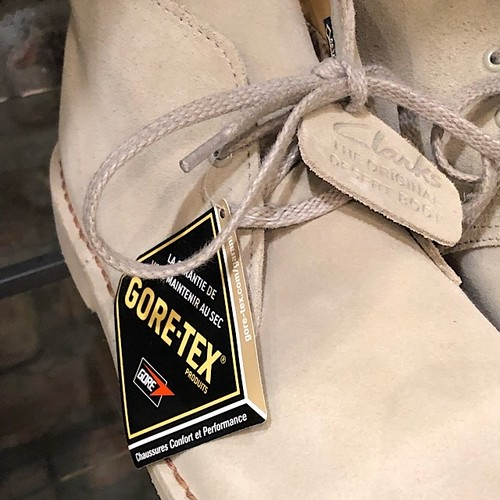 Clarks Originals Desert Boot Gore-Tex Sand Suede UK6.5