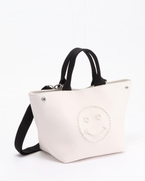 DRESドレス   パールスマイルバッグ/ホワイト