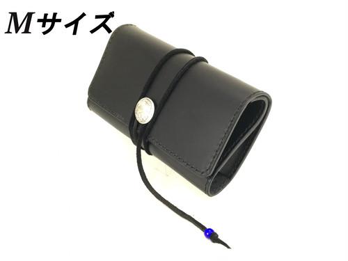 ★オーダー★ 手巻タバコ用ロールアップポーチMサイズ  革厚:ミディアム