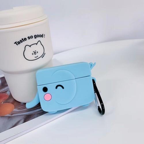 【注文商品】Cute Cartoon 3D Animal Soft Silicon Airpods Proケース【Elephant】