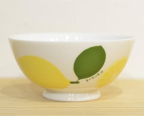 鈴木悦郎 茶碗 レモン