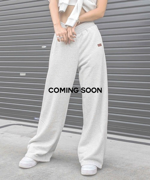 Relaxy wide sweat pants
