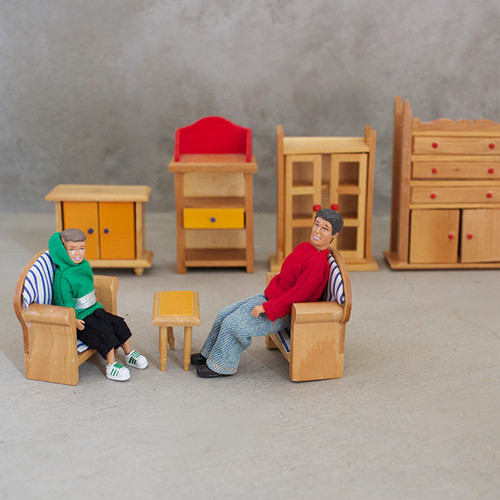 ミニチュア人形セット ドール家具