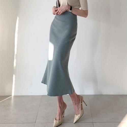 2色 simple ハイウエストスカート c2852