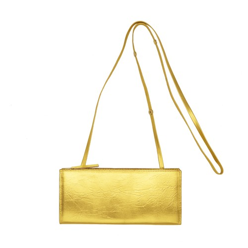 TIN BREATH Travel purse Gold