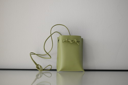 MARROW / STRING POUCH (PEA GREEN)