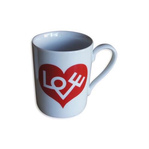 "A.G Coffee Mug ""LOVE HEART"""