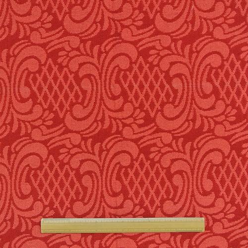 織柄カーテン(横137×縦198)