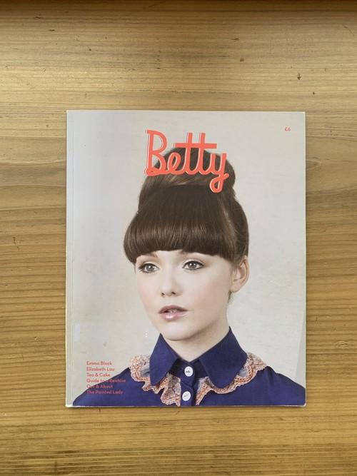 『Betty』Winter 2011/12