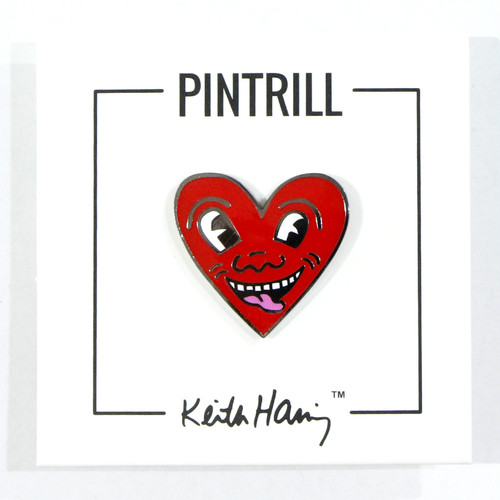 Keith Haring - Heart Pin