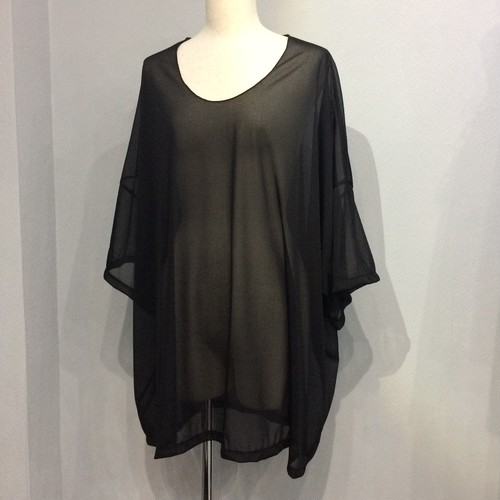 SEE-THROUGH BIG TOP【FRANCOISE】