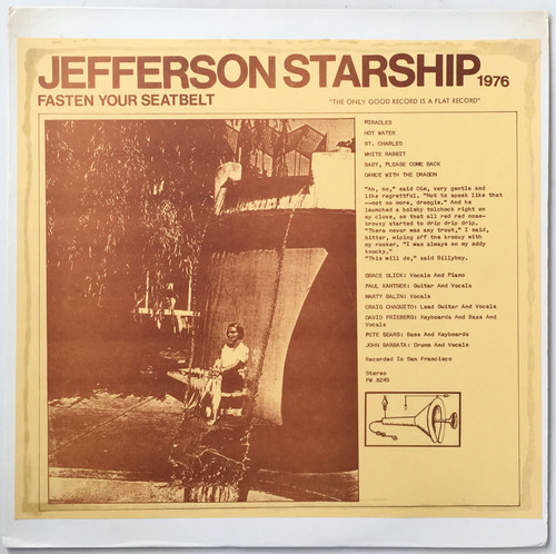 Jefferson Starship / Fasten Your Seatbelt [LP/Used]