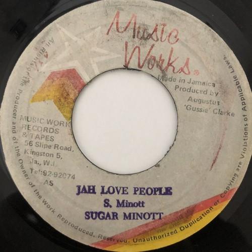 Sugar Minott - Jah Love People【7-20513】