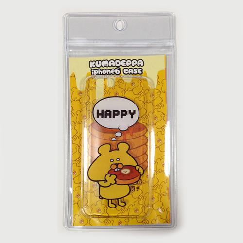 「HAPPY」CLEAR iPhone6専用 ハードケース