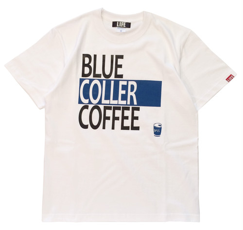 BLUE COLLER COFFEE / WHITE