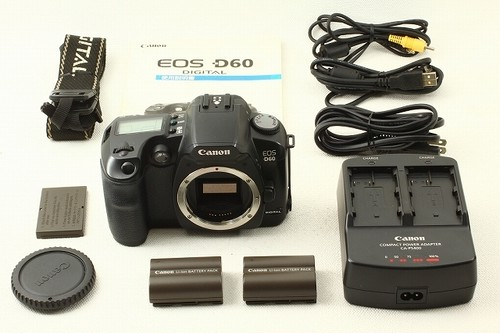 Canon キヤノン EOS D60 ボディ 極上品ランク/9629