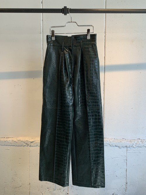 REKISAMI   leather pants