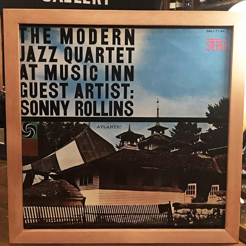 The Modern Jazz Quarte feat. Sonny Rollins ‎– The Modern Jazz Quartet At Music Inn Vol.2  (LP)
