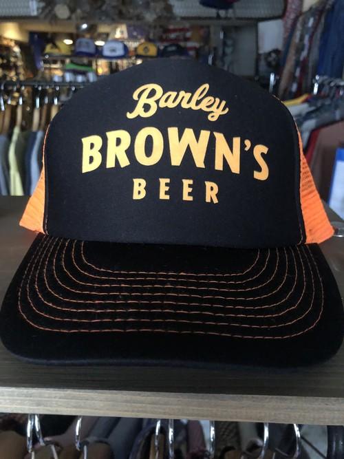 アメリカ キャップ ビール banley brown's beer