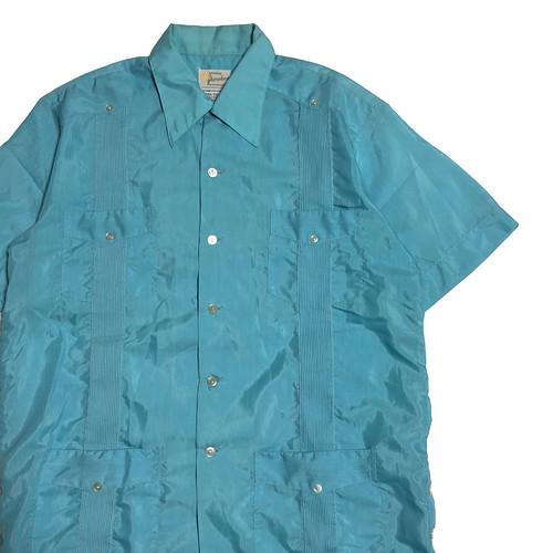 70's メキシコ製 Yucateca キューバシャツ