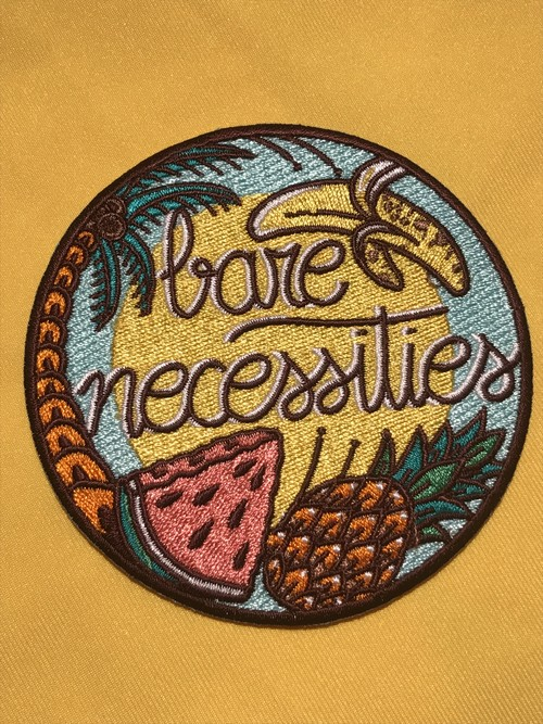 "labarbuda""BARE NECESSITIES PATCH"""