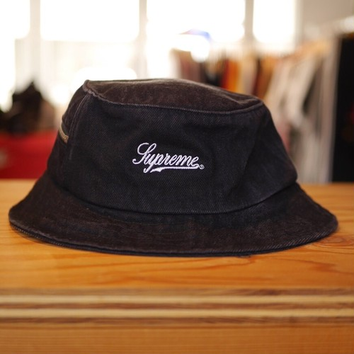 Supreme Zip Twill Crusher Hat