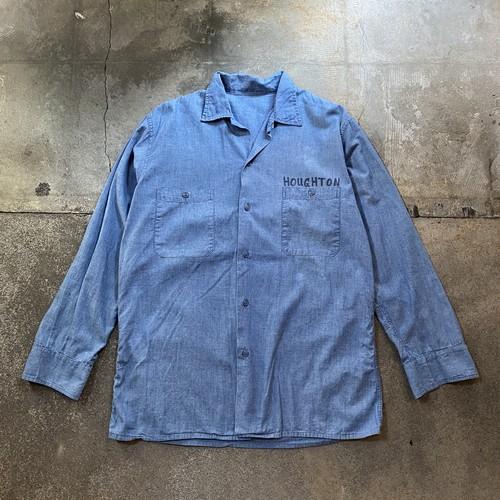 80s Prisoner Chambray Shirt / USA