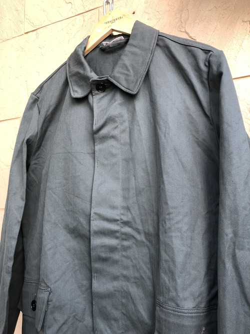 〜1970s German military herringbone fabric work jacket