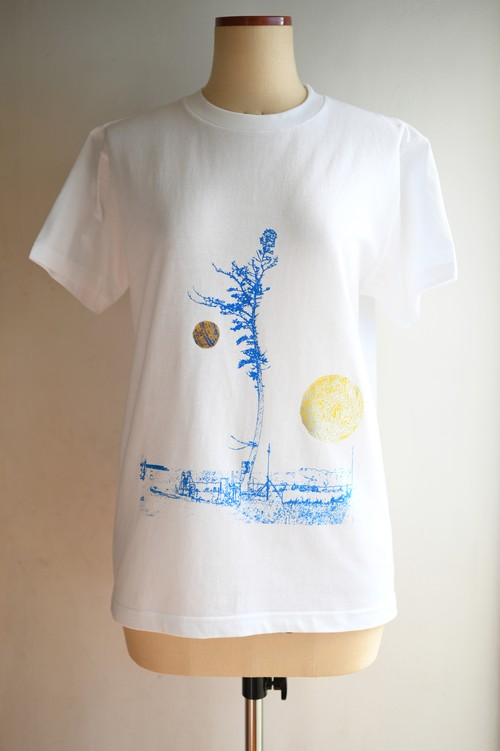 NO.470 南相馬奇跡の一本松のTシャツ【福島】