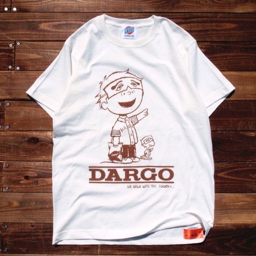 "【DARGO】""FUKUOKA CITY"" T-shirt (NATURAL)"