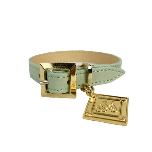 Leather Bracelet Titi Green