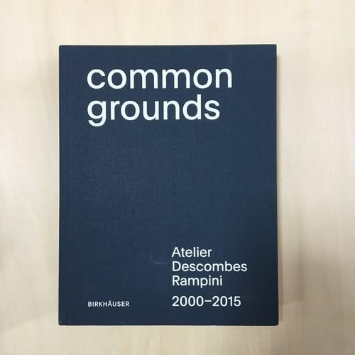 Common grounds : Atelier Descombes Rampini 2000-2015