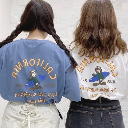 キャラクターロゴTシャツ[L616-3]