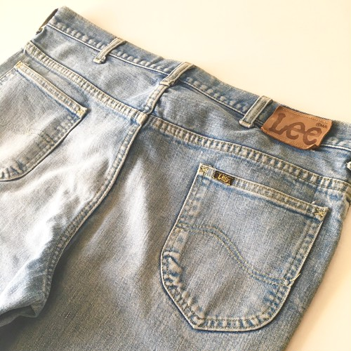 Lee : five pocket jeans / 200-0147 (used)