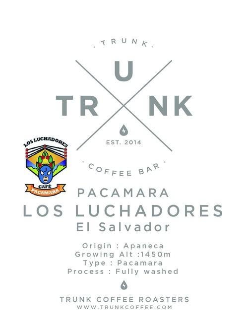 LOS LUCHADORES  *PACAMARA* エルサルバドル 100g