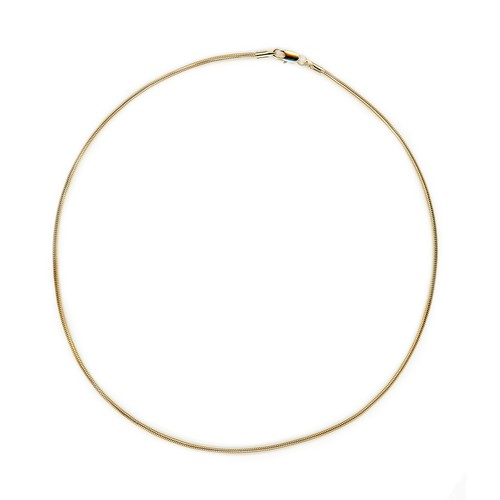 【GF1-37】20inch gold filled chain necklace
