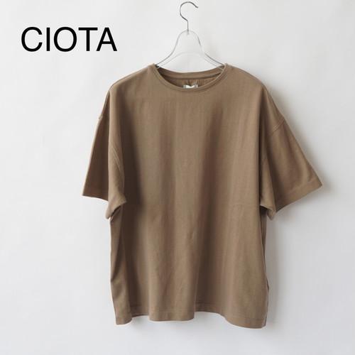 CIOTA/シオタ・スビンコットン30/2吊り天竺半袖T
