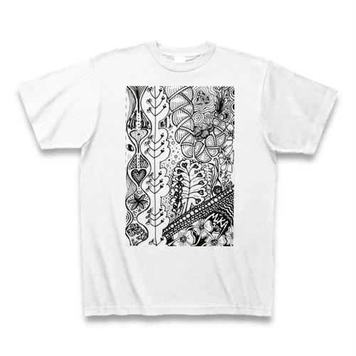 【Tシャツ各サイズ限定15枚】白色「CONTINUE」