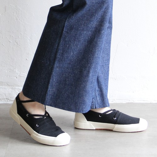 KAPTAIN SUNSHINE【womens 】mariner srip-on made by SUPERGA