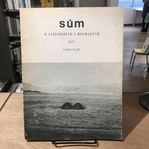 sum a listahatid reykjavik art-festival 1972 4. juni / 21. juli / Dieter Rothほか