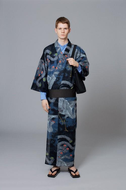 ゆかた / 伊藤若冲 / 鳳凰図(With tailoring)
