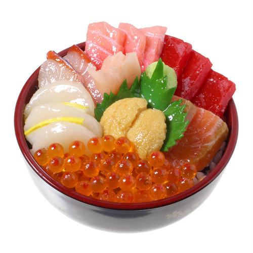 [7017]食品サンプル屋さんのミニグルメ(海鮮丼)【メール便・ラッピング不可】