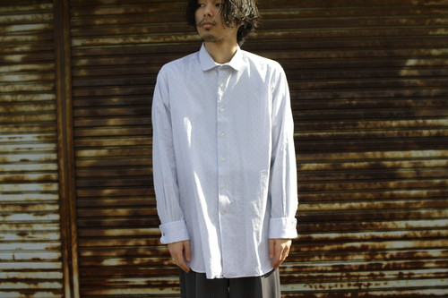 Euro Vin. Round Collar Dress Shirt