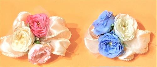 お花リボン飾り