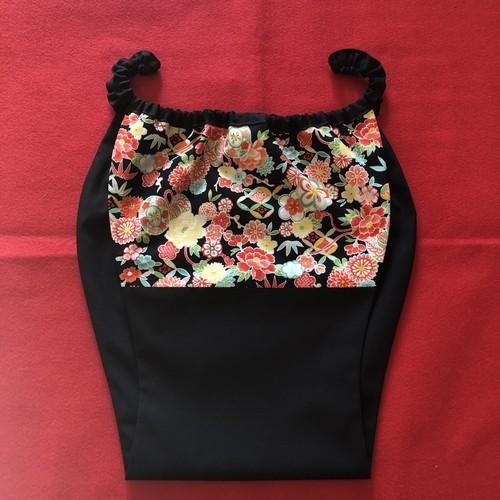 【受注生産】はごろもショーツ蓮 HS0014-S2102BK 男女兼用 [Made-to-order] Comfortable underwear Hagoromo shorts Ren -Lotus- Unisex Black